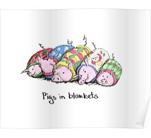 Pigs in Blankets Poster