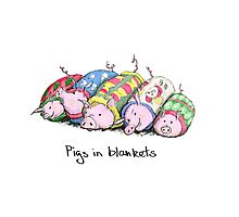 Pigs in Blankets Photographic Print