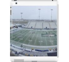 Snowy Bobcat Stadium - Montana State University iPad Case/Skin