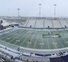 Snowy Bobcat Stadium - Montana State University by worldwideart