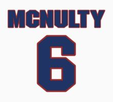 Basketball player Carl McNulty jersey 6 by imsport