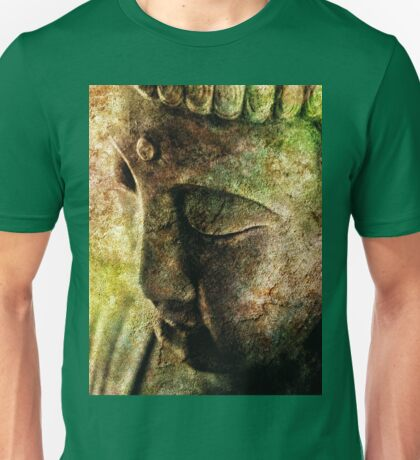 Buddha Head 3 Unisex T-Shirt
