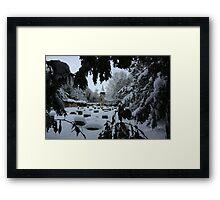 St Helen's Church in Snow Framed Print