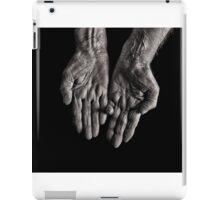 Old Womans Hands iPad Case/Skin