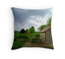 Back in the past Throw Pillow
