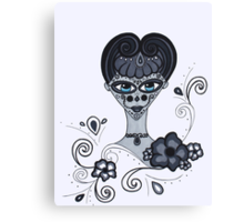 Jewel - Day of the Dead Canvas Print