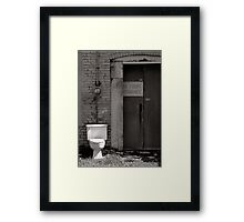 The Electric Outhouse Framed Print