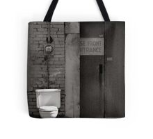 The Electric Outhouse Tote Bag