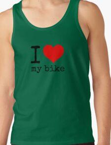 I Love My Bike Tank Top