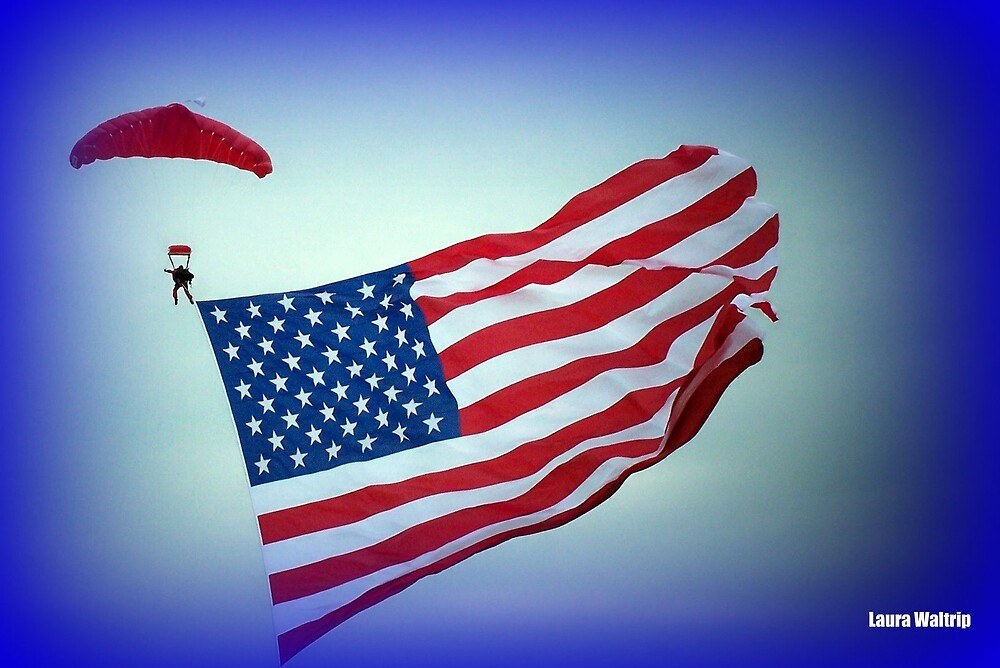 God Bless America by lwaltrip