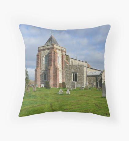 High Halstow Church Throw Pillow