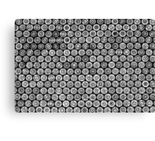 45 Brass #2 (Black & White) Canvas Print