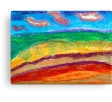 Beach Marsh Canvas Print