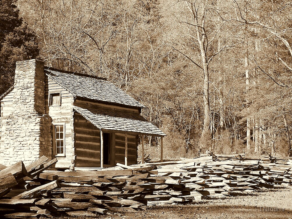 Settlement in Cades Cove, TN by TNRidrnr