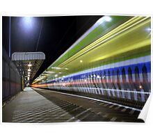 The 18:22 Light Stream to Birmingham Poster