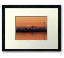 Sunset (2) 15-11-07 Framed Print