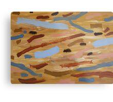 Brown Water 1 Metal Print