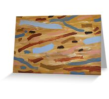 Brown Water 1 Greeting Card