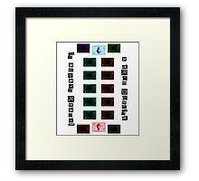 Yu-Gi-Oh! - A True Duelist Framed Print