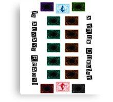 Yu-Gi-Oh! - A True Duelist Canvas Print