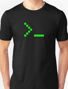 Old School Computer Text Input Prompt T-Shirt