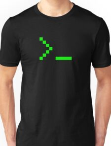 Old School Computer Text Input Prompt Unisex T-Shirt