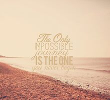 The Only Impossible Journey by Nicola  Pearson