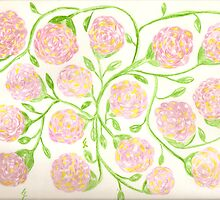 Johnathan James Florals - aquarium vine work  by candace lauer