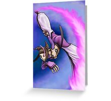 Street Fighter IV - Juli Greeting Card
