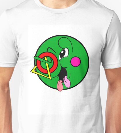 Green Cricket Circle Unisex T-Shirt