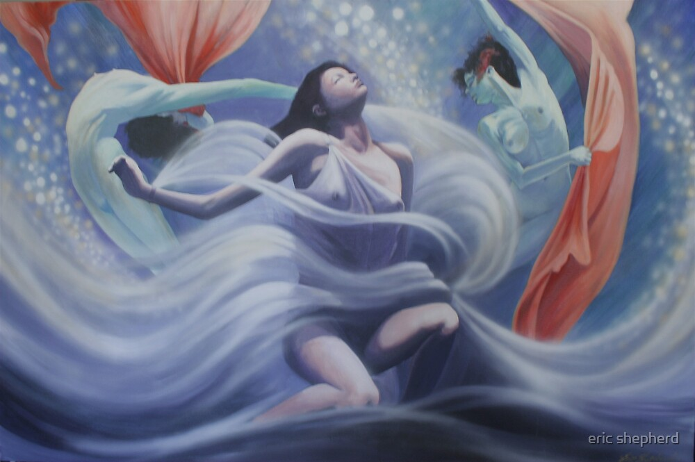 Dream Dancing (Given to the 2009 bushfire appeal) by eric shepherd