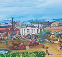 Tralee Market. by Frank Maguire