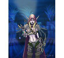 World of Warcraft - Lady Sylvanas Photographic Print