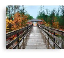 Bridge To Inner Peace Canvas Print