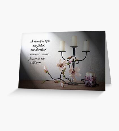 Bereavement Card Greeting Card