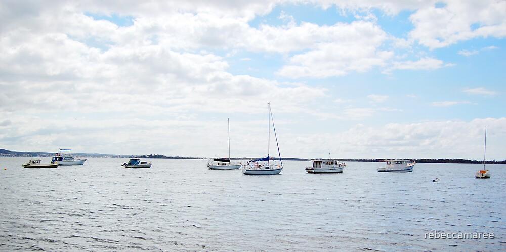 Boats by rebeccamaree