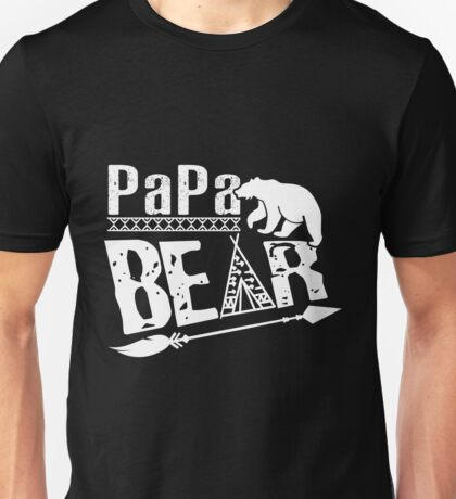 Papa Bear -Father's Day Gift ,Men's Shirt,gifts for dad,rich dad poor dad, family gifts, husband gifts ,present,idea, christmas, birthday, clothing, appravel, tshirt, tee, hoodie, v-neck Unisex T-Shirt
