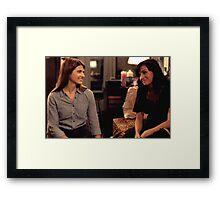 Carmilla x Laura Framed Print