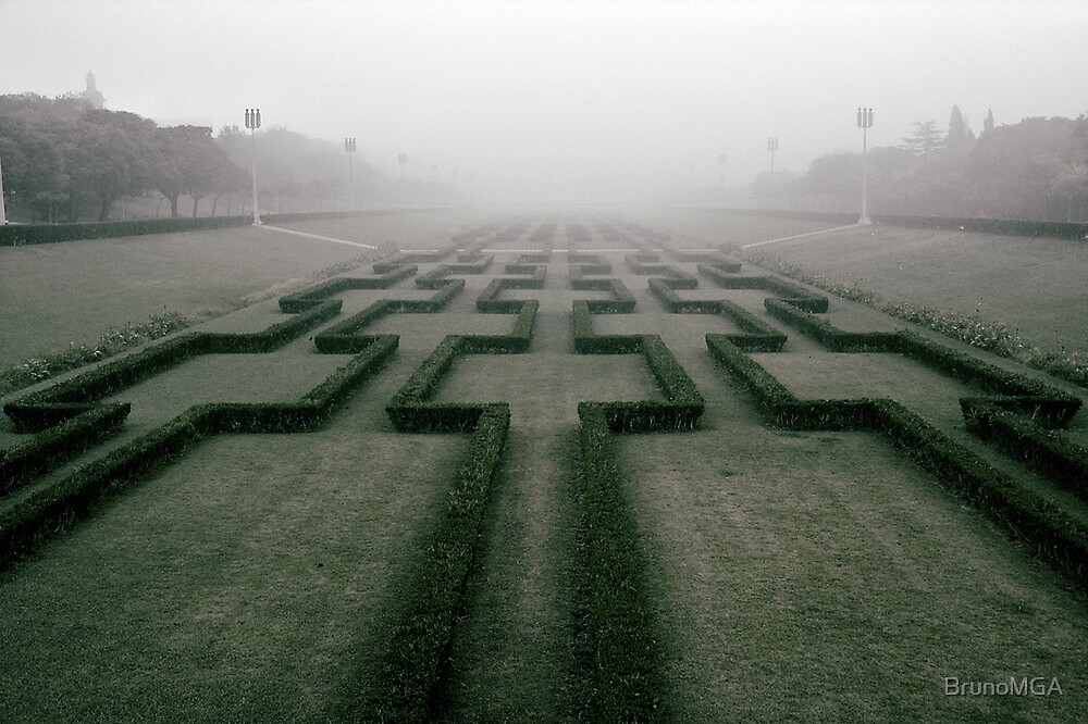 The maze to infinity by BrunoMGA