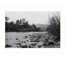 South Fork - American River  Art Print