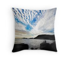 Waiting for the light Throw Pillow