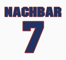 Basketball player Bostjan Nachbar jersey 7 by imsport