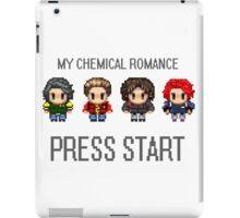 MCR - PRESS START iPad Case/Skin