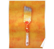 Paint brush Poster