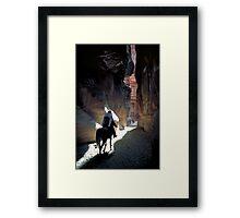 Petra Horseman Framed Print