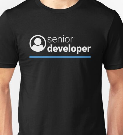 Senior Developer Unisex T-Shirt