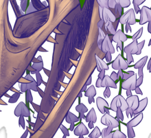Velociraptor with Wistera Sticker