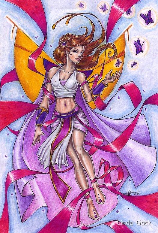 Summer Fairy by Linda  Gock