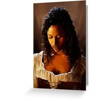 Blacksmith's Daughter, Forged in Fire Greeting Card