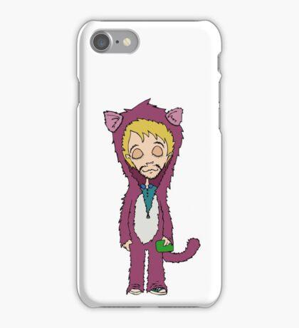 Cat man iPhone Case/Skin